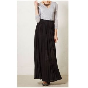 Anthropologie Bordeaux Fairbanks maxi dress small
